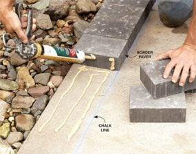 Glue Wood To Brickwork
