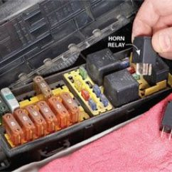 Off Road Light Wiring Diagram With Relay Isuzu Stereo Car Horn Repair Tips The Family Handyman Try A Different