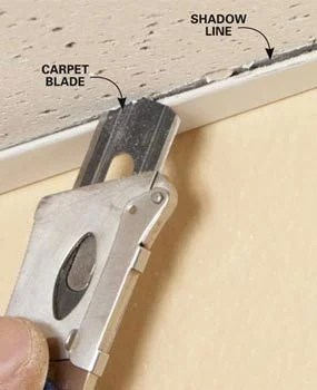 drop ceiling tiles installation tips