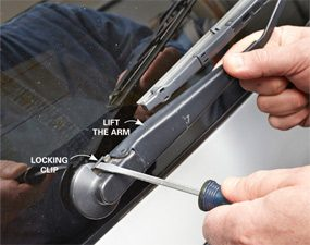 How to Replace Windshield Wiper Arm | The Family Handyman