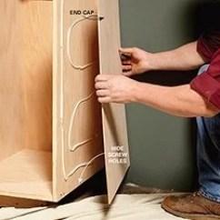 Diy Kitchen Cabinet Refacing Kidkraft Navy Vintage 53296 Face Frame Plans And Building Tips | The Family ...