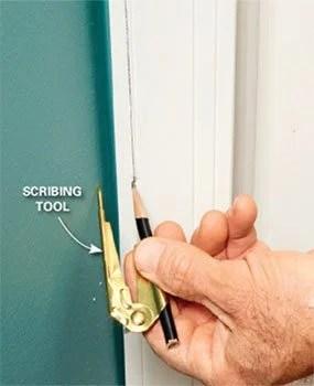How To Install Door Trim With Uneven Walls