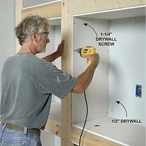 building electrical installation wiring diagram ez go golf cart diagrams showcase built-in bookcase plans | the family handyman