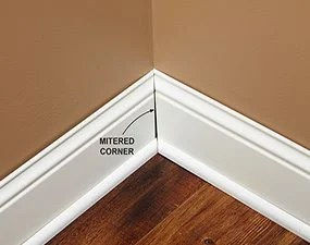 chair rail corners without coping standing office chairs how to cope joints the family handyman why not miter