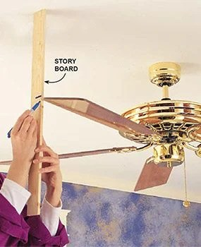 How To Fix A Loose Ceiling Fan Box