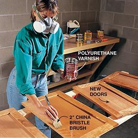 How To Strip Polyurethane From Cabinets