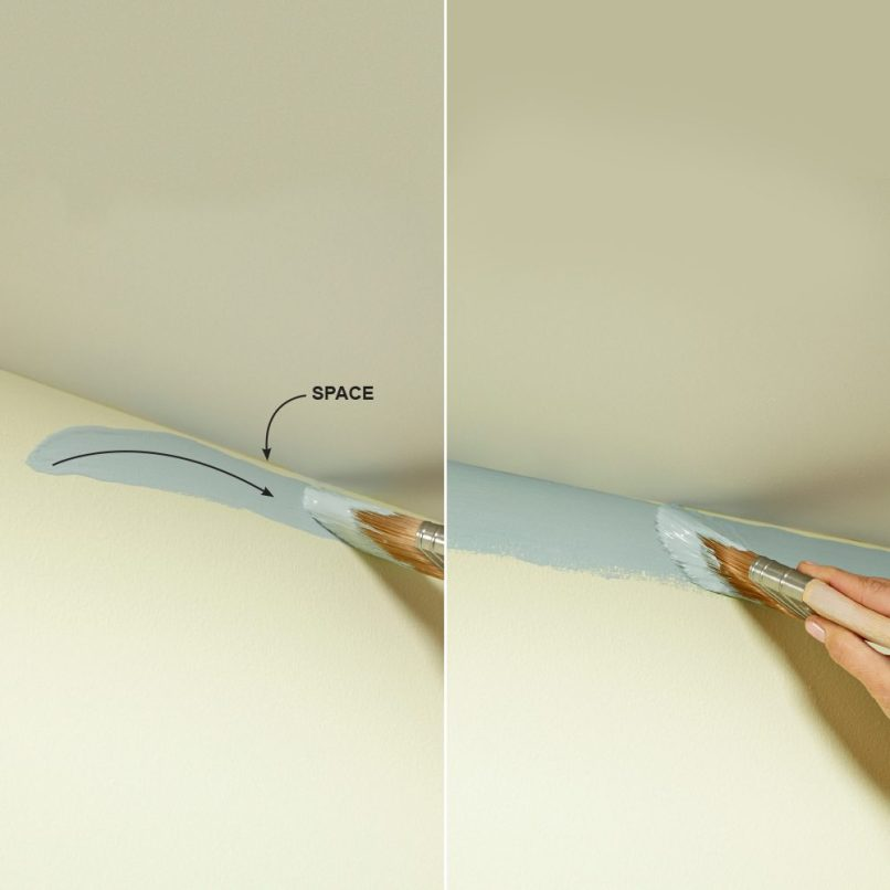 Painting Tips Cutting In Ceiling Www Energywarden Net