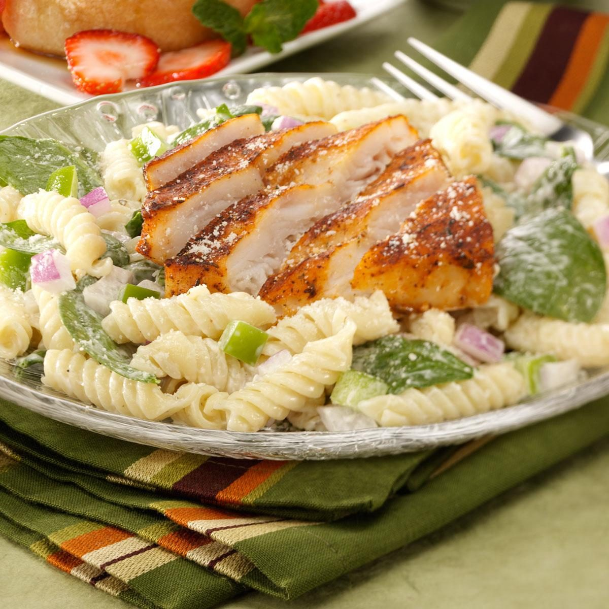 Blackened Fish Salad Recipe Taste Of Home
