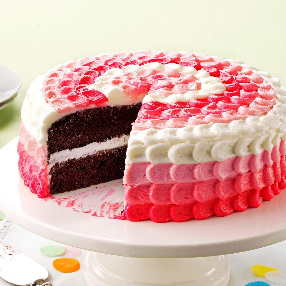 Cake With Buttercream Decorating Frosting Recipe