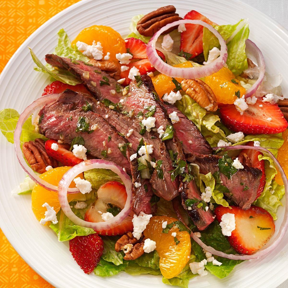 Citrus Steak Salad Recipe Taste Of Home
