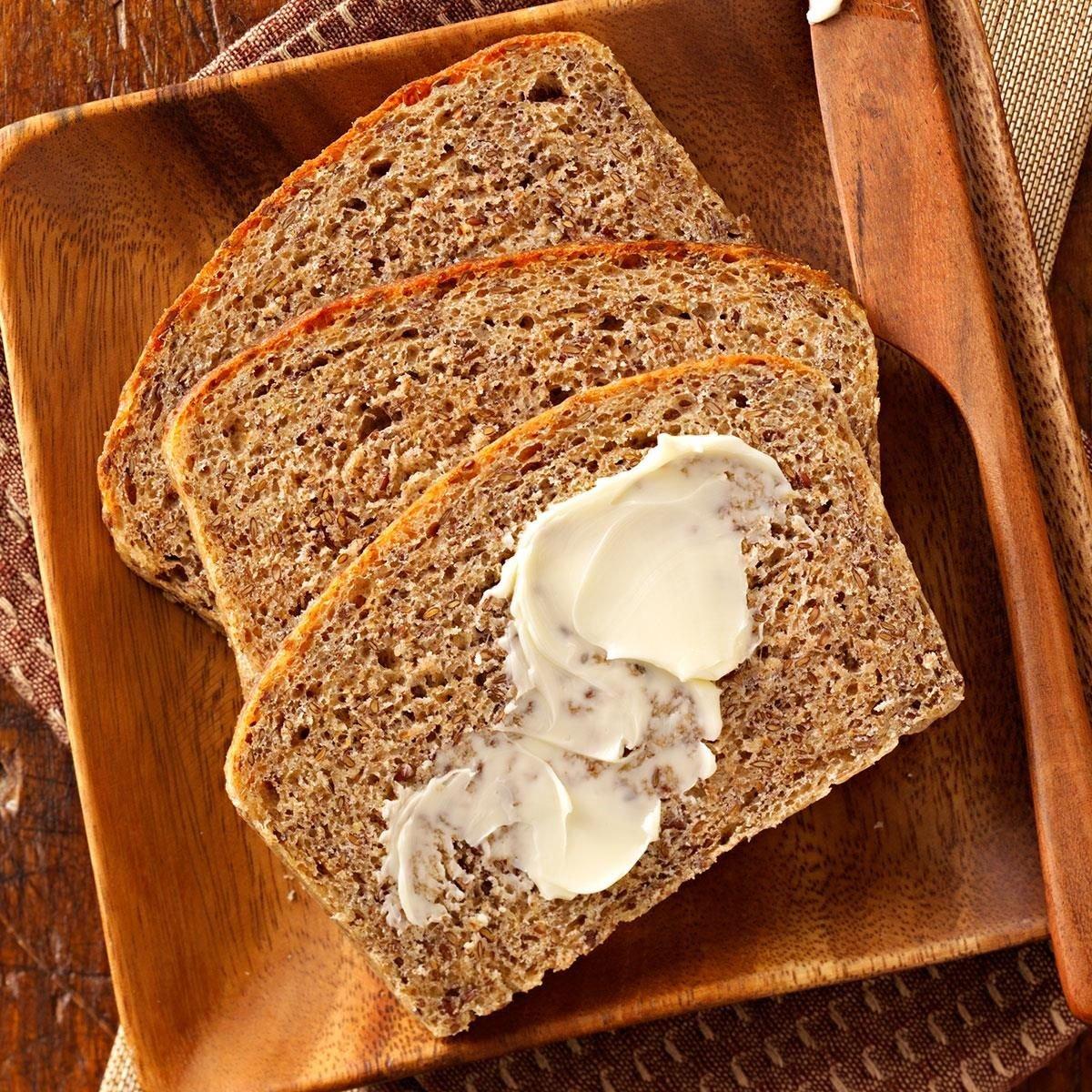 Flaxseed Bread Recipe | Taste of Home