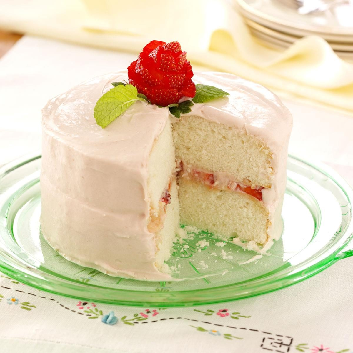Mom S Favorite White Cake Recipe