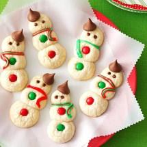 Snowman Cookies Recipe Taste Of Home