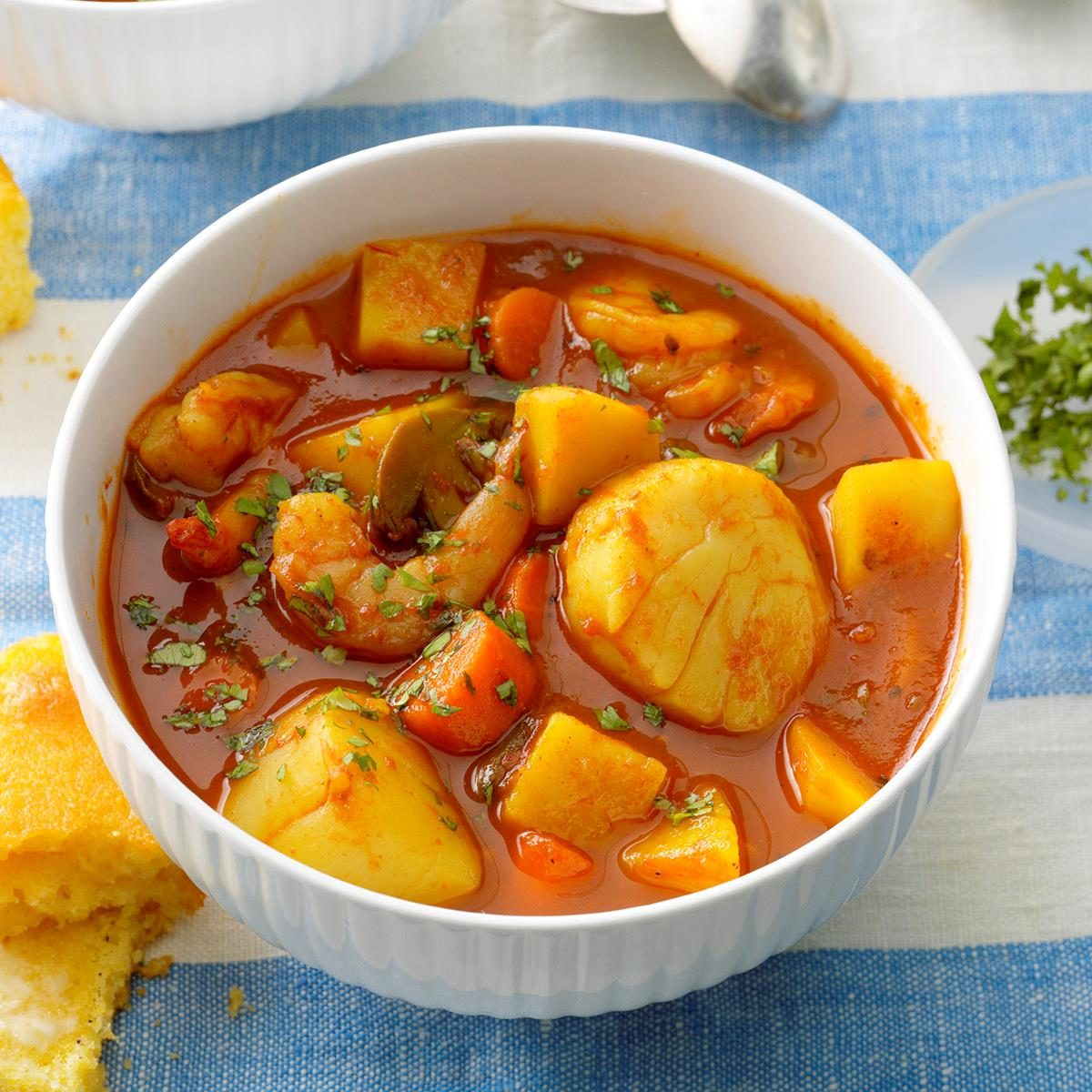 Spicy Seafood Stew Recipe Taste Of Home