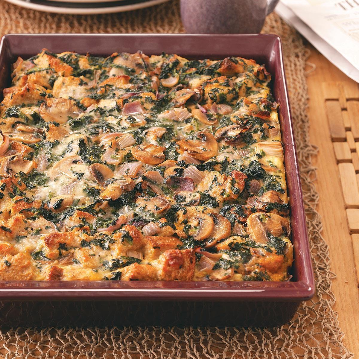 Sunday Brunch Strata Recipe  Taste of Home