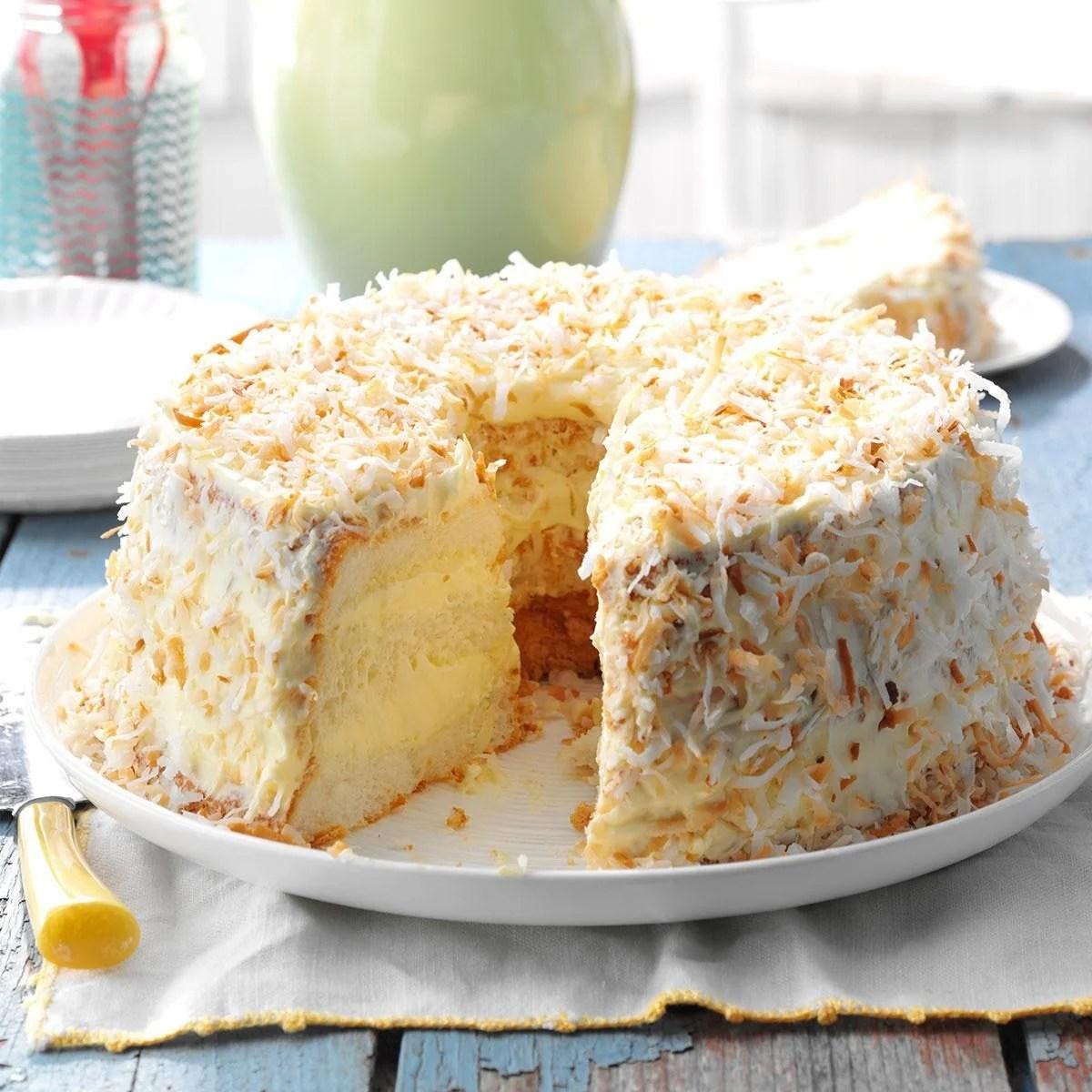 Lime Angel Food Cake Recipe Taste Of Home