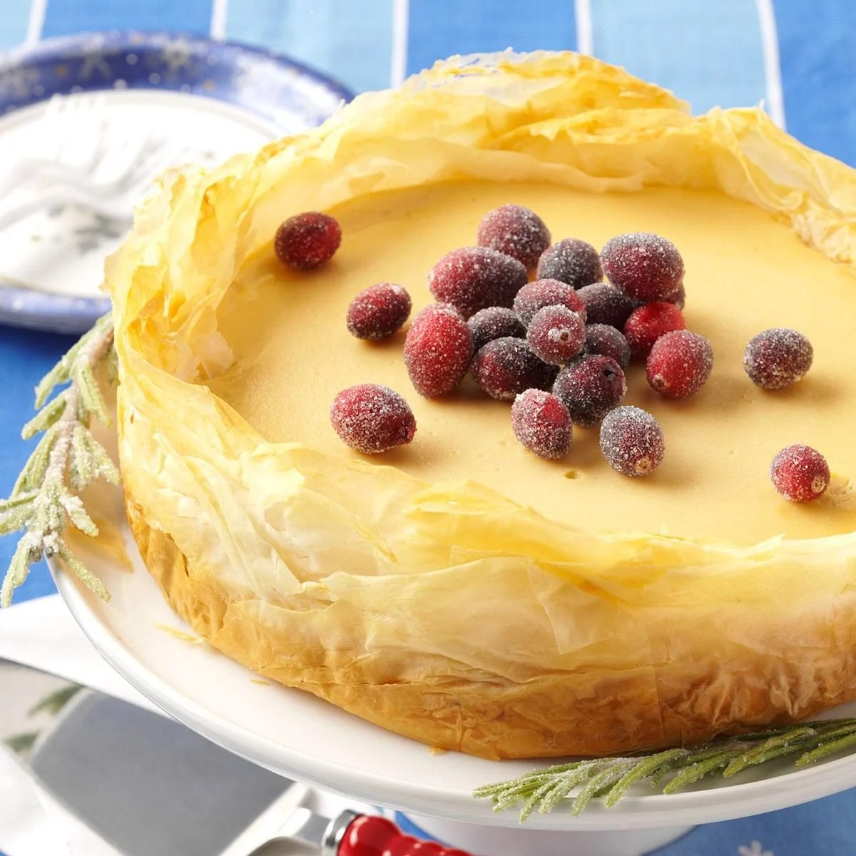 Baklava Cheesecake Recipe Taste Of Home