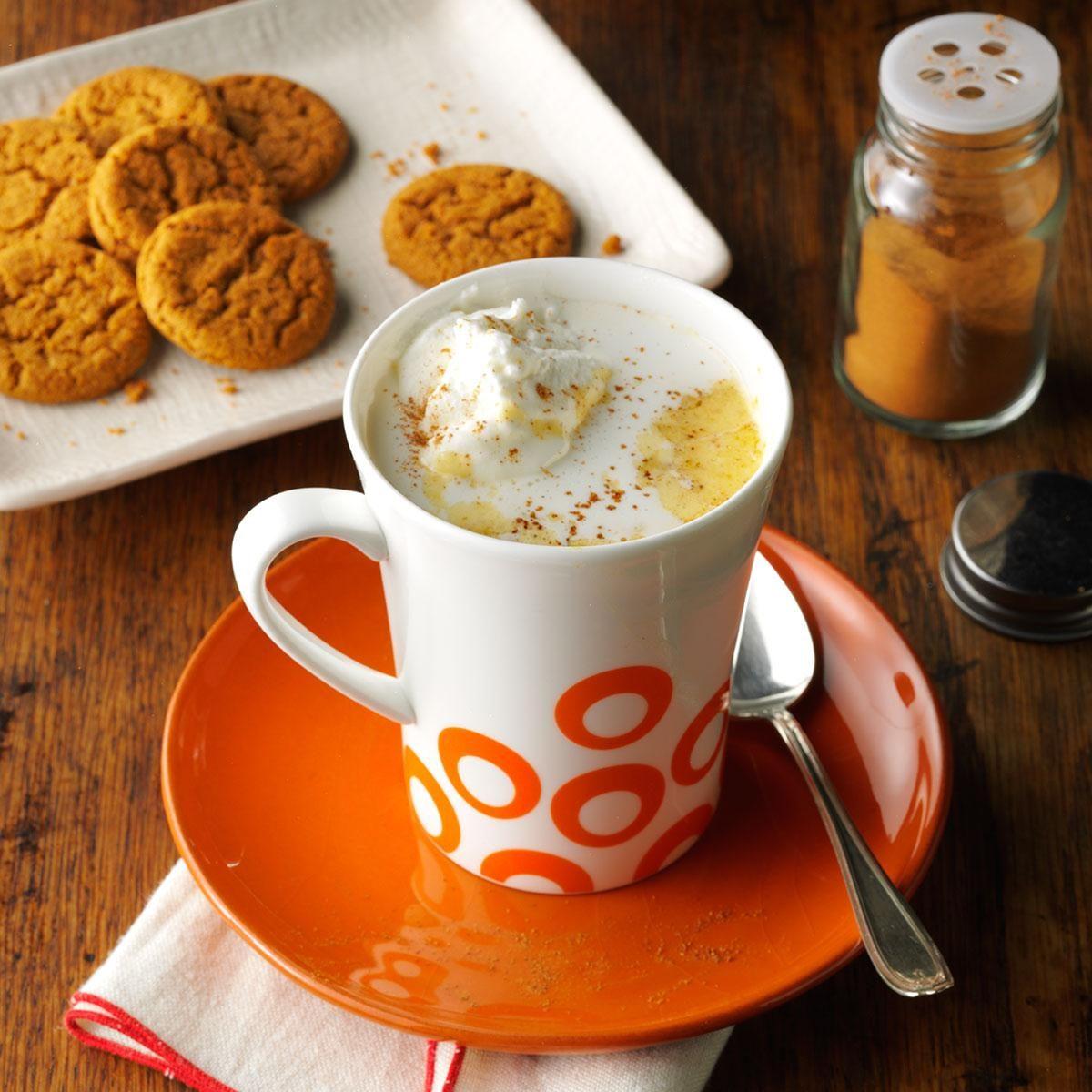 Pumpkin Spice Hot Chocolate Recipe