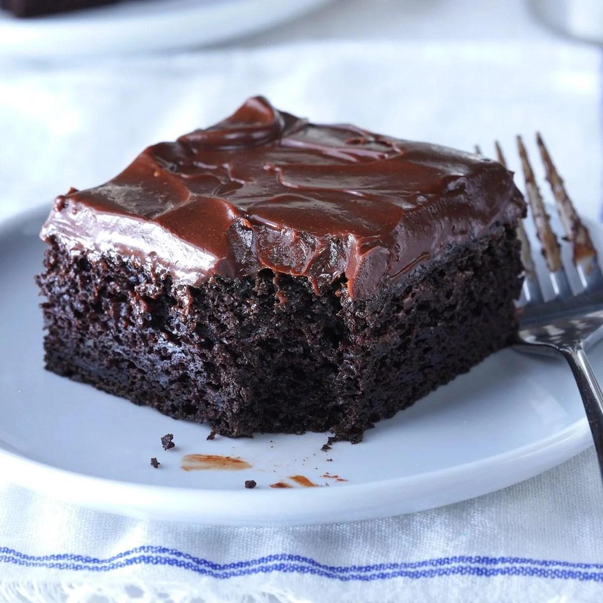 Sue S Chocolate Zucchini Cake Recipe Taste Of Home