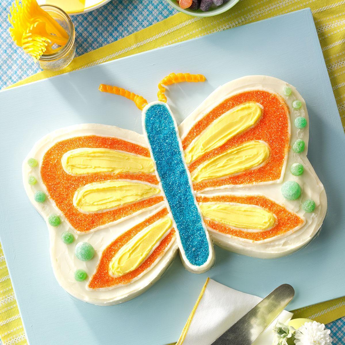 Homemade Butterfly Cake Recipe
