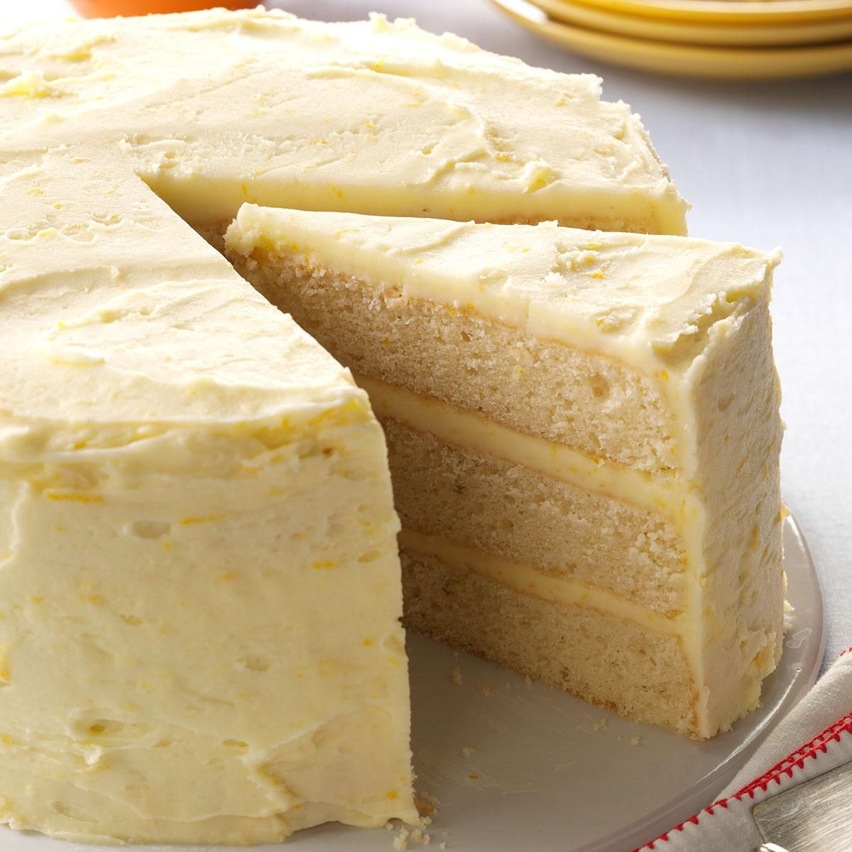 Lemon Orange Cake Recipe