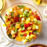 Fresh Fruit Bowl Recipe   Taste of Home