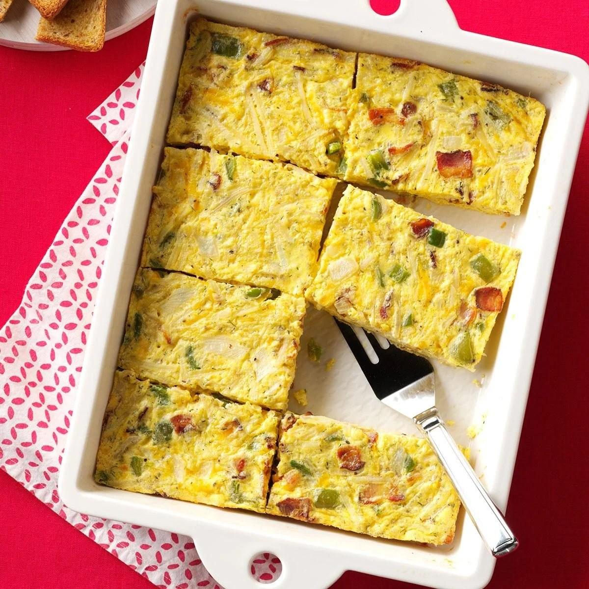 Sunday Brunch Egg Casserole Recipe Taste Of Home