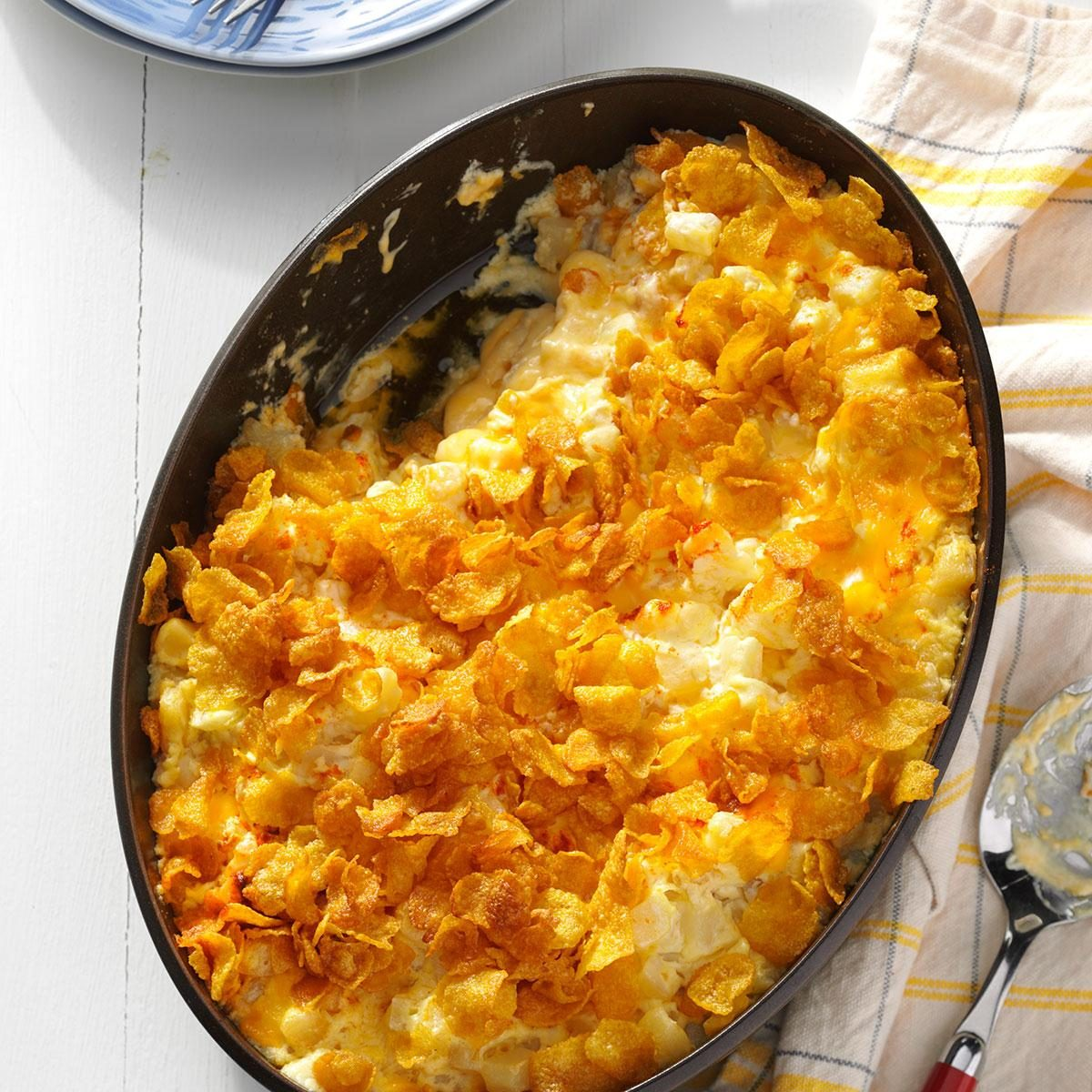 Creamy Hash Brown Casserole Recipe | Taste of Home