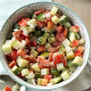 Dill Garden Salad Recipe Taste Of Home