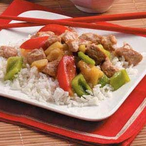 Chinese New Year Skillet Recipe  Taste of Home