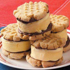Peanut Butter Ice Cream Sandwiches Recipe