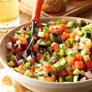 Chopped Garden Salad Recipe Taste Of Home