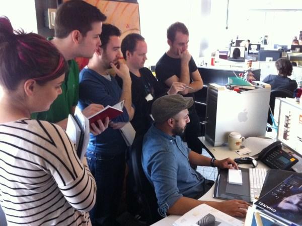 Hovering Art Directors