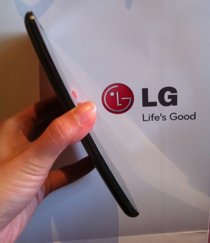LG 2 730x846 G Flex review: LGs giant smartphone with a natural grip is proof curved could be mainstream