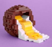 Creme Egg TW1 220x201 Artist Spotlight: Chris McVeigh, Lego virtuoso