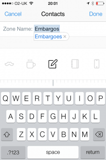 e1 220x330 SquareOne: A slick iPhone app that wants to make your emails less overwhelming