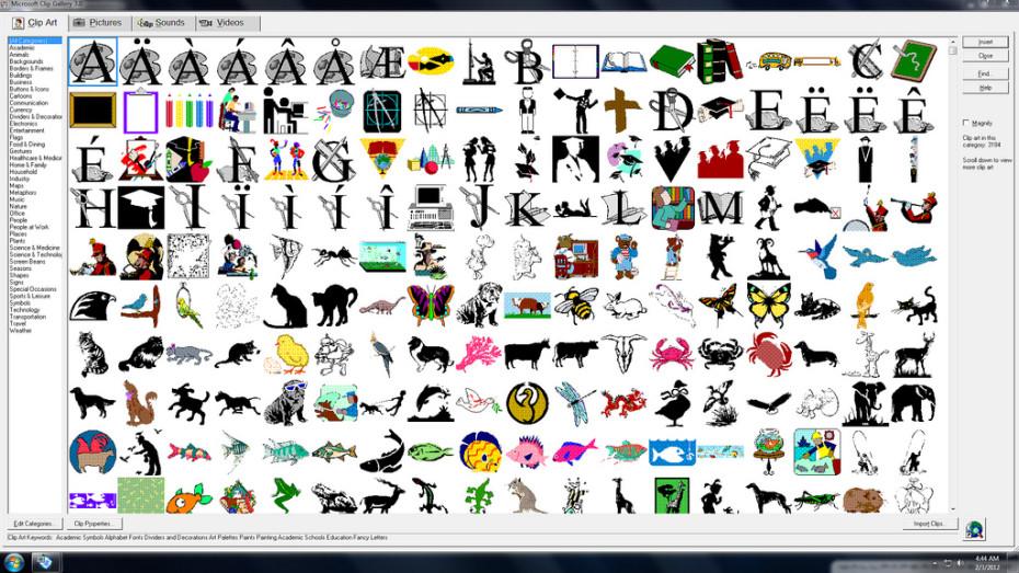 Art Gallery Clip Windows Microsoft