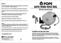 Pope Garden Hose Reel