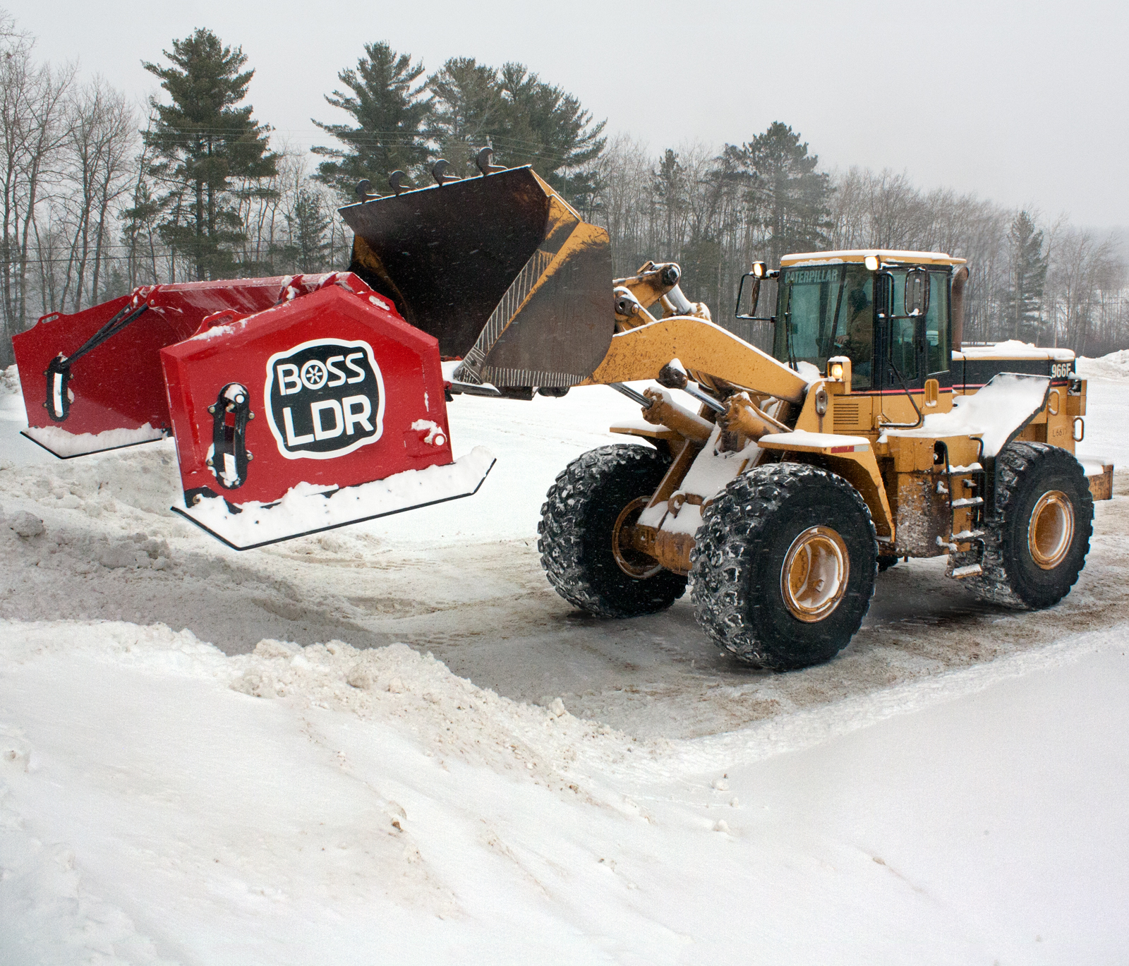 hight resolution of loader plows