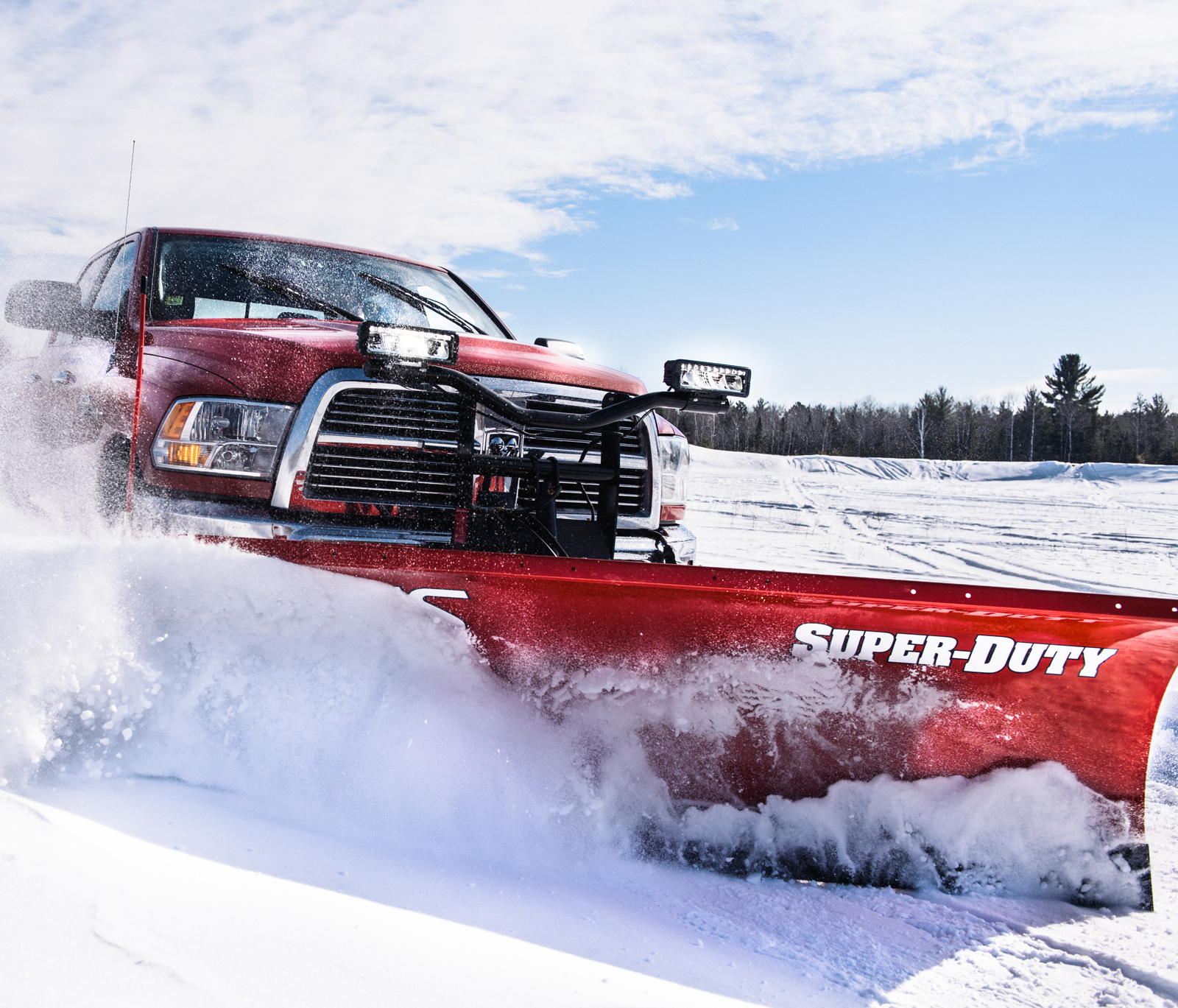 hight resolution of super duty plows