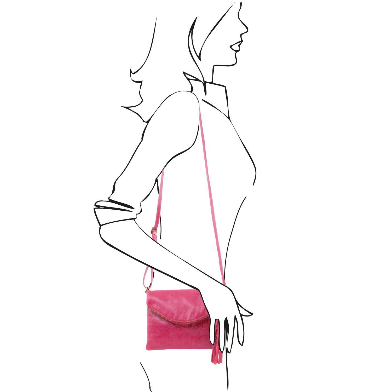 TL Young bag Shoulder bag With Tassel Detail Magenta TL141153