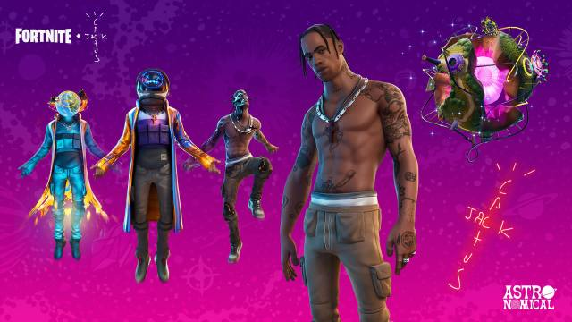 Fortnite Astronomical Outfits