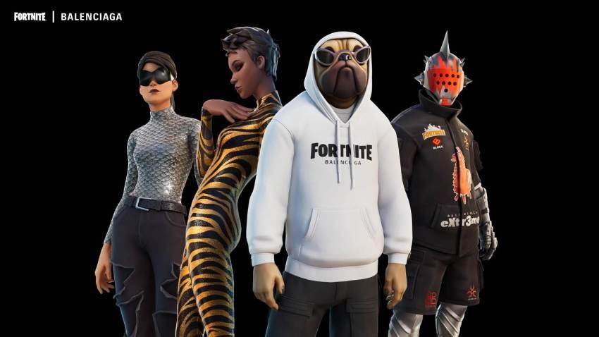 Fortnite Balenciaga Fit Outfits