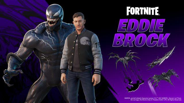 Fortnite Eddie Brock Venom Items
