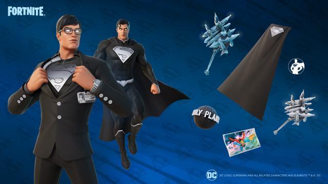 Fortnite Superman Epic Quest Rewards