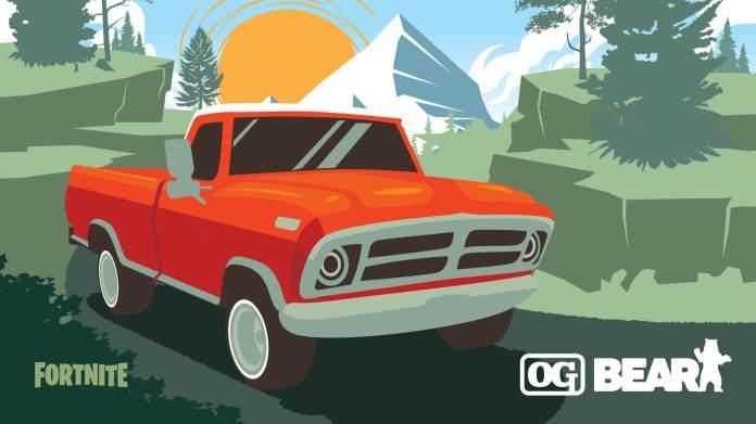 Fortnite Truck Og Bear