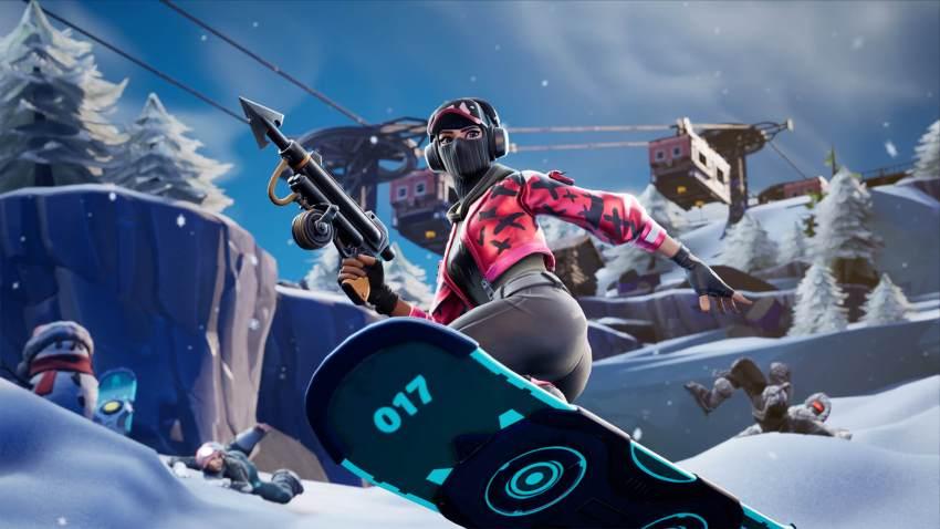 フロスティフォートナイト Arctic Alps Driftboard Ffa(製作者: Buszels)