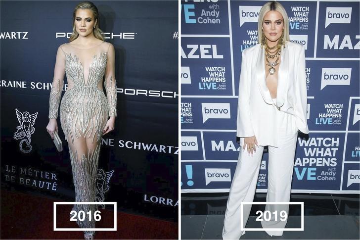 3 34 - Estos son los mejores y peores looks de las Kardashian durante los últimos años. ¡Vaya evolución!