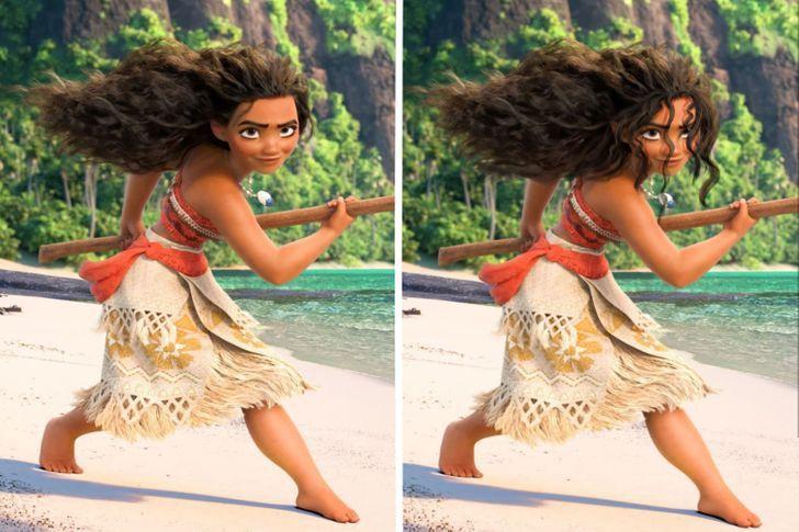 5 60 - Así se verían las princesas Disney si tuvieran un cabello más real. Ariel por fin lo tiene mojado