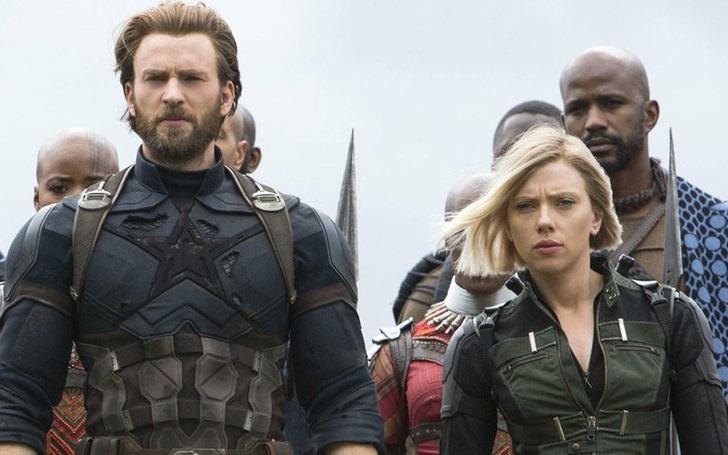 scarlett chris evans amigos0003 - Scarlett Johansson y Chris Evans son mejores amigos en la vida real. Se conocieron antes de la fama